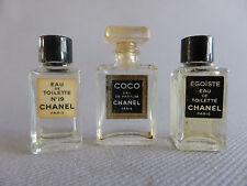3 MINIATURES PARFUM CHANEL COCO EGOISTE 19