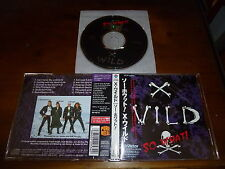 X-Wild / So Waht! JAPAN Running Wild Grave Digger C7