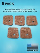 5x AIR FILTERS REPLACES 4140 124 2800 FOR SITHL FS38, FS45, FS46, FS55, HL45, HS
