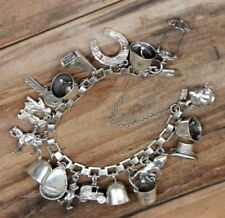 Bracelet without Stone Sterling Silver Vintage & Antique Jewellery