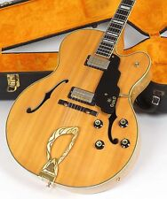 1968 Guild X-500 Blonde Archtop Guitar Lots of Flame! with Case