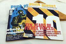 Punk Planet Magazine Lot of 2 #61 #54 Ian Mackaye Neurosis Jenny Toomey Mekons
