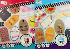 Craft Sensations Set Of 480 Craft / Card Making Gift Tags And Labels