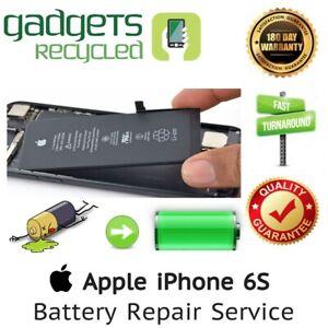 iPhone 6S Battery Replacement Repair Service - Same Day Repair & Return