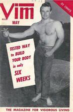 Vim May 1957 Vol.4 No.5, Vintage Male Beefcake Magazine