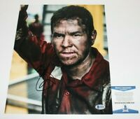 ACTOR MARK WAHLBERG SIGNED 'DEEPWATER HORIZON' 11x14 MOVIE PHOTO BECKETT BAS COA