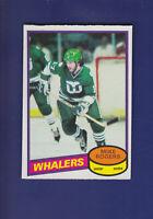 Mike Rogers 1980-81 O-PEE-CHEE OPC Hockey #143 (NM) Hartford Whalers
