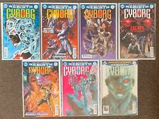 Cyborg #4,6,7,8,9,14,18 DC Universe Rebirth 2017 lot Nm