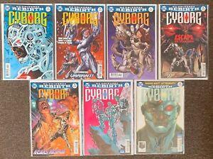 Cyborg #4,6,7,8,9,14,18 DC Universe Rebirth 2017 Teen Titans lot Nm