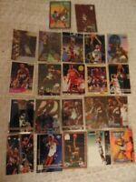Vin Baker Rookie Card Singles Lot 1993-2002 w/Chrome Refractor #SB20 Lot x 22