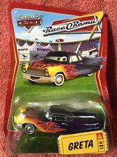 Disney Pixar Cars ~ GRETA ~ RaceORama Series #81 1:55 Diecast Mattel