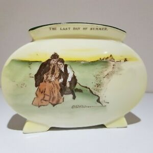Royal Doulton Gibson Girl vase