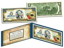 WEST VIRGINIA Statehood $2 Two-Dollar Colorized US Bill WV State *Legal Tender*
