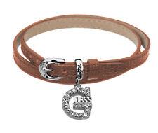 GUESS Bracelet chaîne de main ubb71243 - Brun moyen wickellederarmband