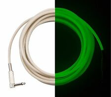 Electric Guitar Cable SALE - 20 ft Green Glowing Cord - Cool Instrument Cable