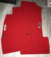 2016-2018 Honda Civic Sedan/Hatch HFP RED Floor Mats - OEM! NEW! 08P15-TGG-110A
