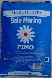 25 Kg Sale Marino Meersalz fein Speisesalz