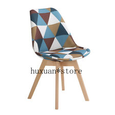 Simple Wooden Modern Home Dining Chair Back Office Chair Creative Solid Wood