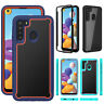 For Samsung Galaxy A11 A21 A20S Shockproof Bumper Silicone Rubber TPU Case Cover