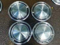 "1969 Oldsmobile HUB CAPS 15"" Wheel Covers 69 Olds Set of 4 Hubcaps"