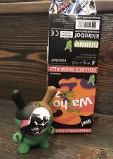 Dunny Kidrobot Warhol Series 2 Skull Andy Warhol Foundation
