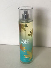 NEW! BATH & BODY WORKS FINE FRAGRANCE BODY SPLASH MIST - WILD HONEYSUCKLE