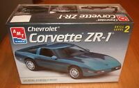 Factory Sealed AMT Chevrolet Corvette ZR-1 Kit # 8609 Chevy 10+ 1:25