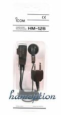 NEW ICOM HM-128 Earphone/Mic for IC-91A IC-91AD IC-E91 IC-T90A IC-E90 IC-T90