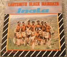 "Album By Ladysmith Black Mambazo, ""Inala"" on Shanachie"