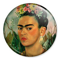 "Frida Kahlo 25mm 1"" Pin Badge Artist Mexican Vintage Artwork Painting"