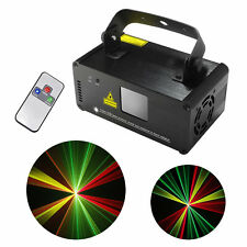 SUNY Mini DMX 8CH RGY Laser Lights DJ Party Bar Show Projector Stage Lighting