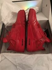 Nike Air Jordan 11lab4 Red 43 US 9.5 Black Red White Banned Red October DS Yeezy