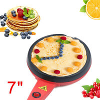 600W Electric Crepe Griddle Pancake Maker Hot Plate Pan Non-stick 110V US STOCK