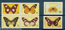 Sao Tome Principe 1979 MNH 6v, Butterflies, Insects