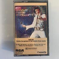 Elvis Presley Legendary Concert Performances (Cassette)