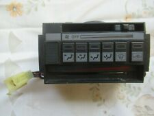CLASSIC HONDA PRELUDE MK1 HEATER CONTOLS BUTTON SWITCH FASCIA - VERY RARE! 👍