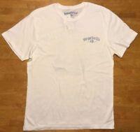 NWT Margaritaville Men's White Short Sleeve Shirt - Size: Medium
