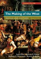 The Making of the West, Volume 1: To 1750: People and Cultures, Rosenwein, Barba