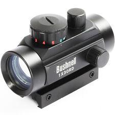 1X30 Red Green Dot Telescopic Sight Scope w/20mm Weaver Mount Hunting