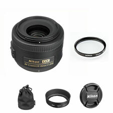 Nikon AF-s 35mm f/1.8G DX Nikkor Lens + 52mm UV Filter for Nikon DSLR, BRAND NEW