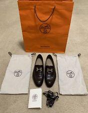 Authentic Hermes Paris Loafers/Dress Shoes Size 41 (8 - 8.5 US) Men