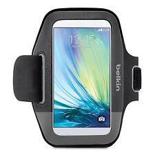 Belkin Sport-Fit Bande de bras pour Samsung Galaxy S6 S6 Edge S5 Noir/Gravel