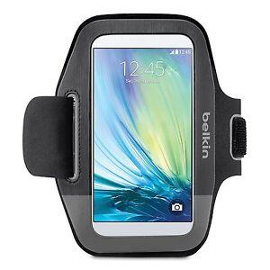 Belkin Sport-Fit Armband for Samsung Galaxy S6 S6 Edge S5 Black/Gravel F8M968