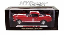 SHELBY COLLECTIBLES 1:18 LEGEND SERIES 1966 SHELBY GT 350 DIE-CAST RED 154RD