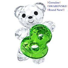 Swarovski Kris Bear NUMBER # 8 (Eight) Color Crystal Figurine 5108730 New in Box