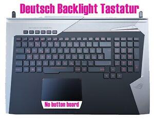 Deutsch Backlight Tastatur für Asus ROG G752V G752VT G752VY G752VS G752VM G752VL