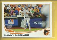Manny Machado RC 2013 Topps Update All Star Game Rookie Card # US216 Padres MLB