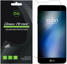 [6-Pack] Dmax Armor HD Clear Screen Protector shield for LG G6 / G6 Duo