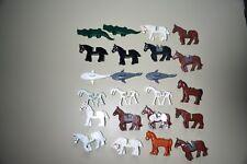 Lego Animals Lot horse sharks gator