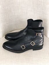 Alexander Mcqueen Triple-Monk-Strap Boot Size 41